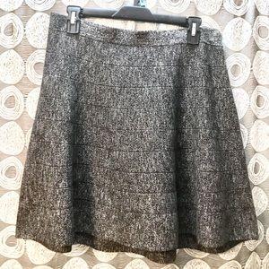StudioM gray knit mini skirt, cute & flirty